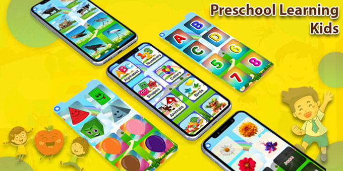 Preschool Learning : Kids ABC, Number, Colors, Day - Android App
