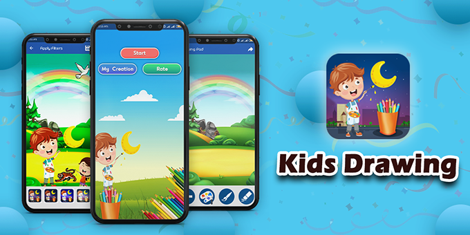 Kids Learning : Kids Paint, Paint Free, Drawing Fun - Android Game