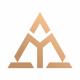 Mountains M Letter Logo
