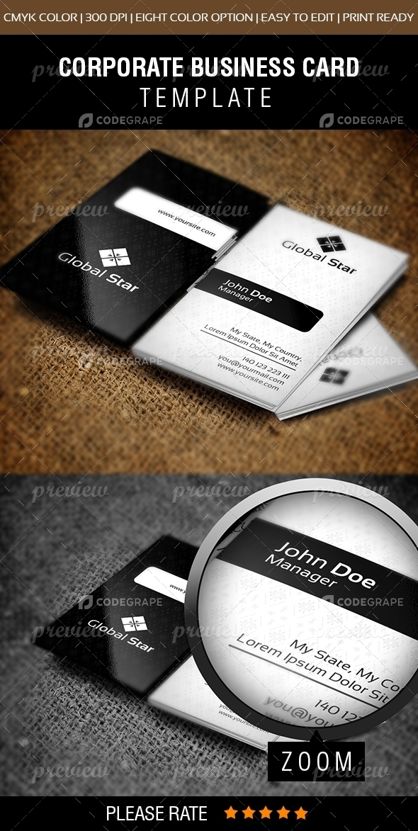 Master Business Card