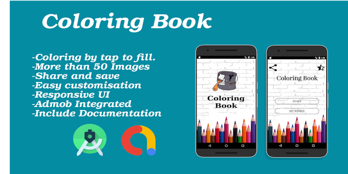Coloring Book Android App