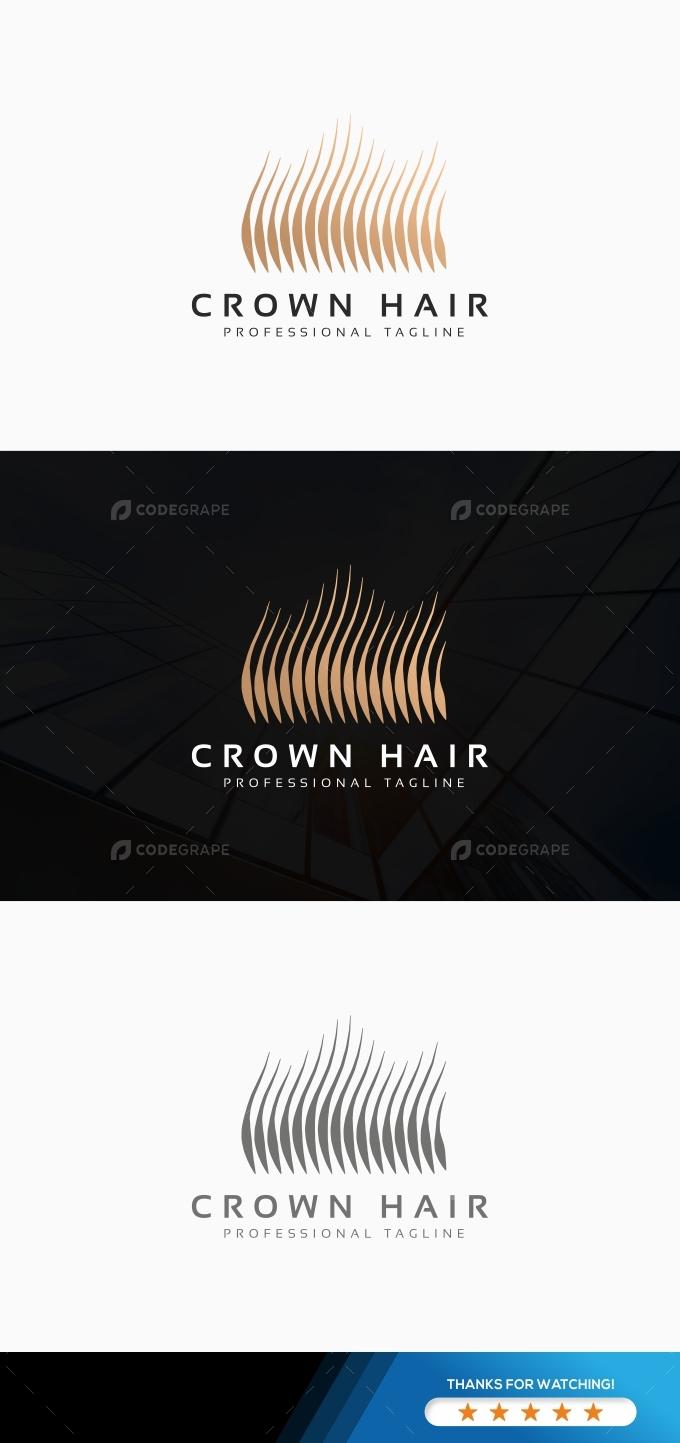 Crown Hair Logo
