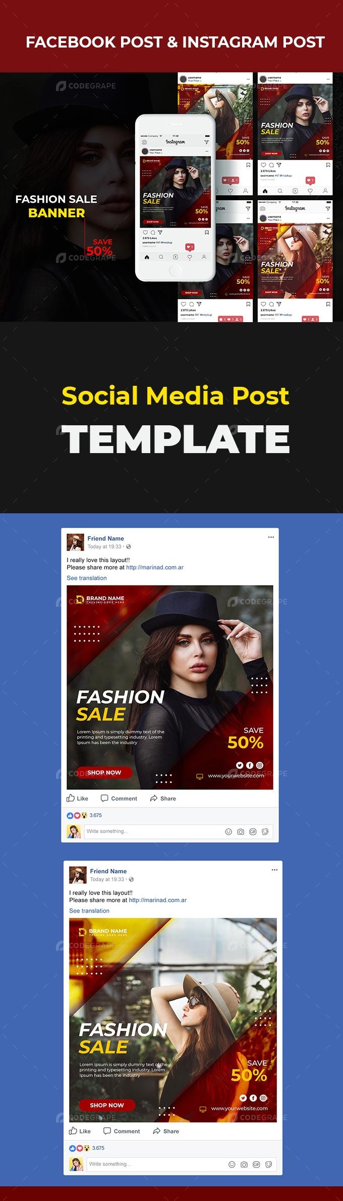 Social Media Banner Post Design