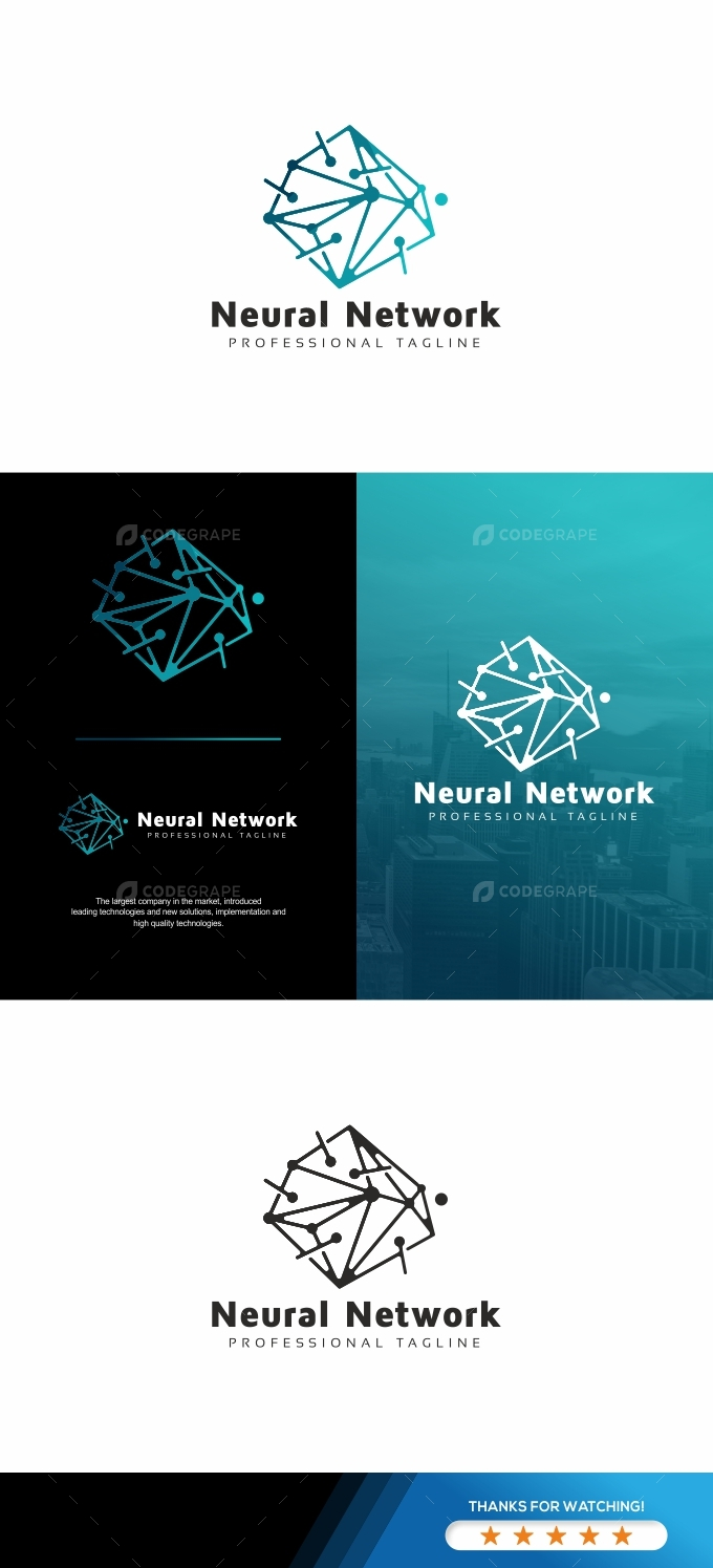 Abstract Mind Network Logo