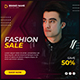 Fashion Sale Social Media Banner Post Design