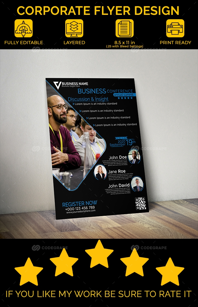 Corporate Conference Flyer Design