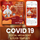 Coronavirus Flyer and Social media pack
