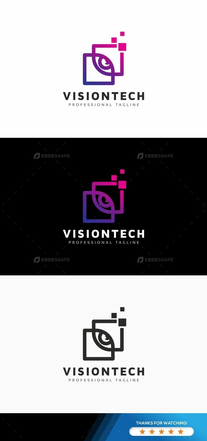 Vision Eye Tech Logo