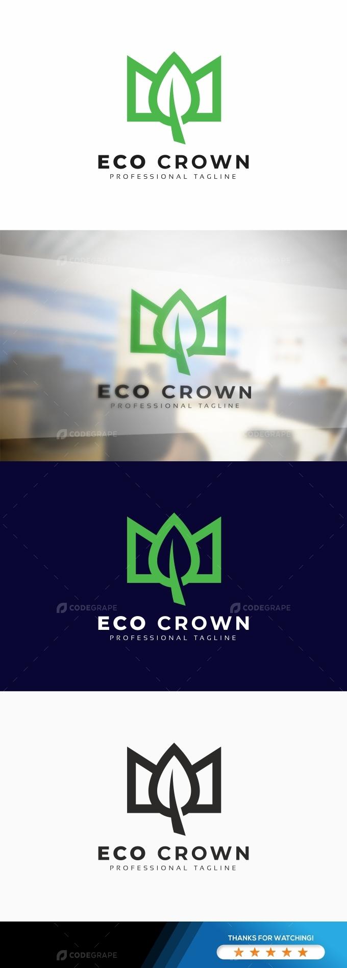 Eco Crown Logo