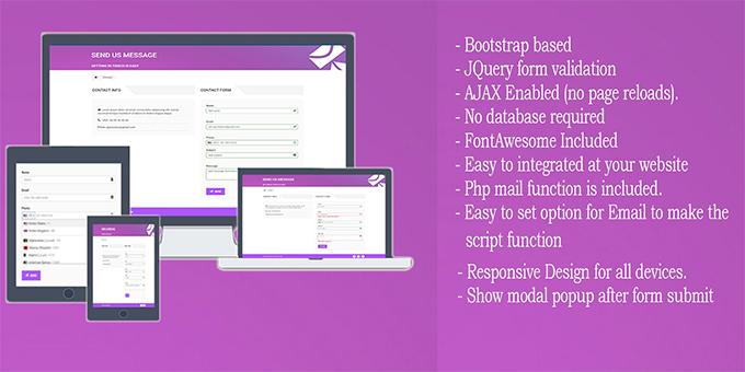 Contact Form AJAX