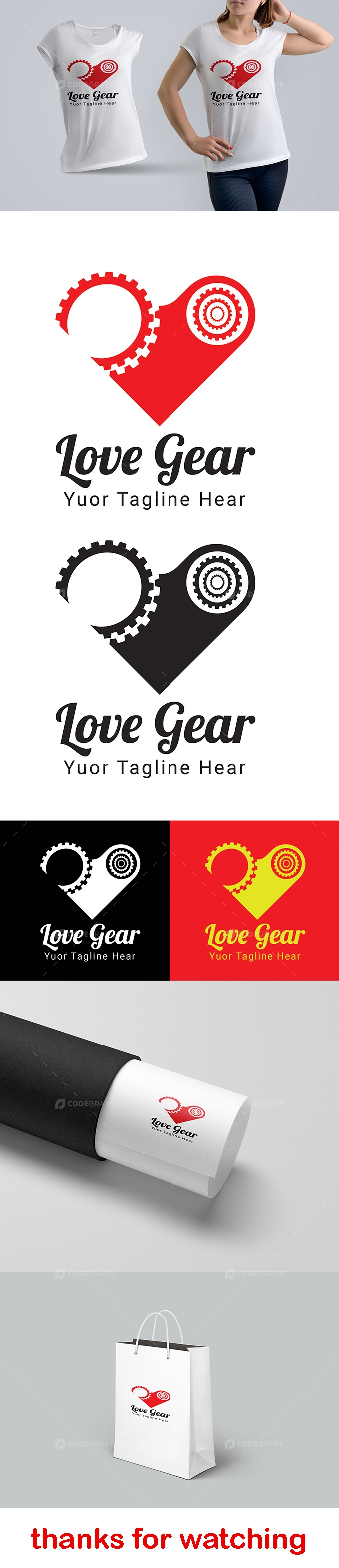 Love Gear Logo