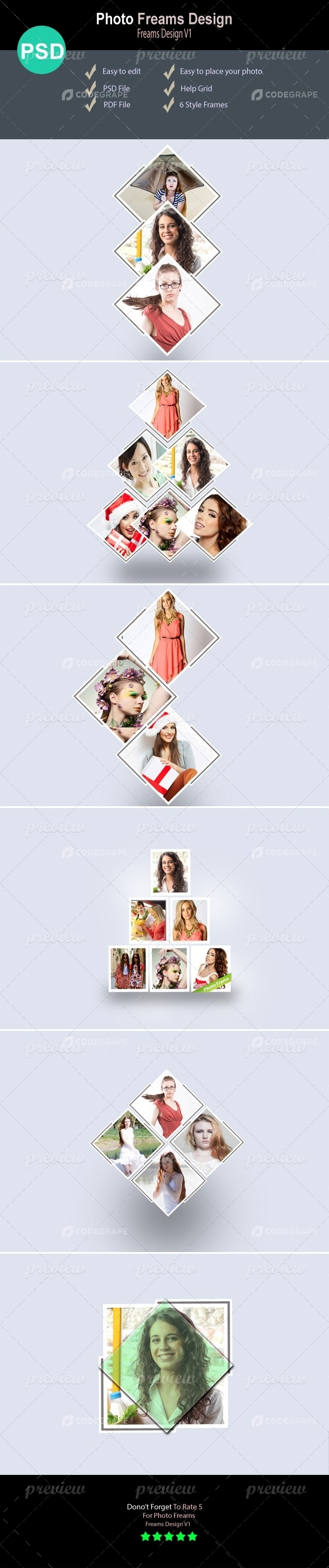 Photo Frame Templates V1.1