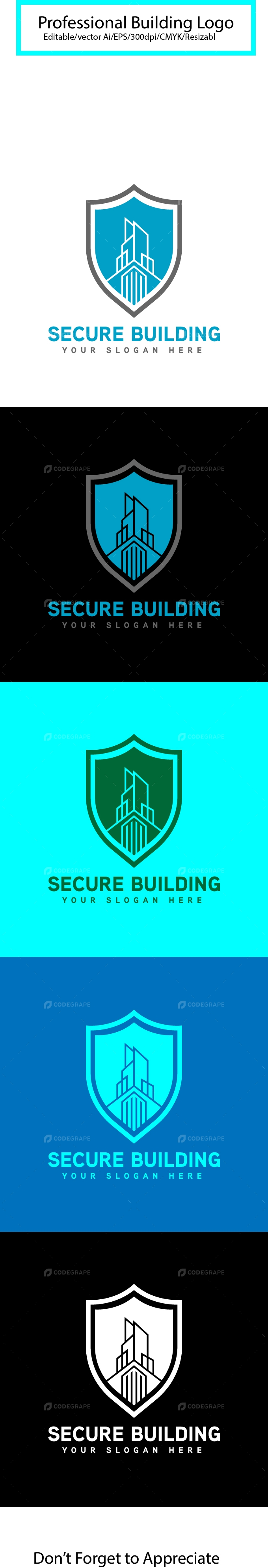 Secure Building Logo