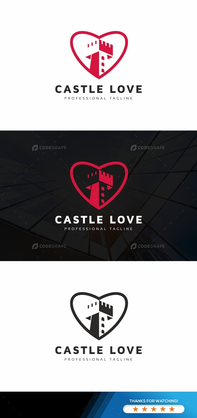 Castle Love Logo