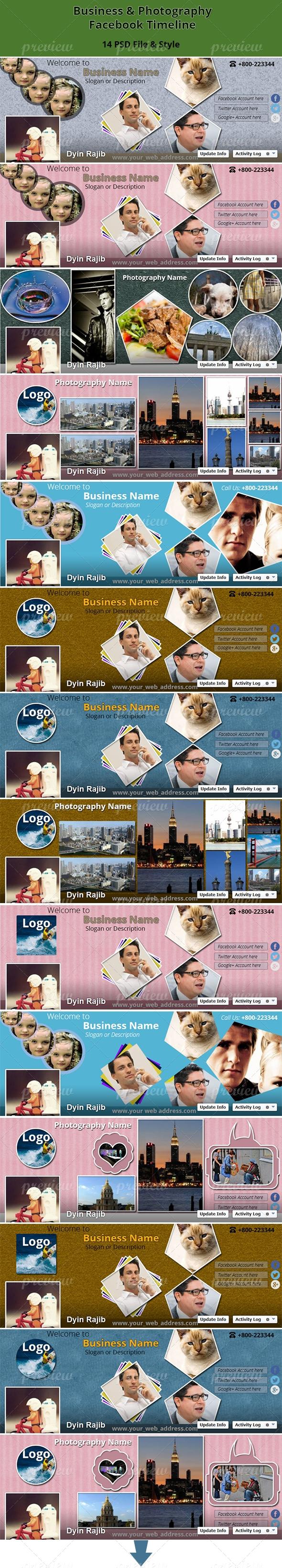 Business & Photography Facebook Timeline