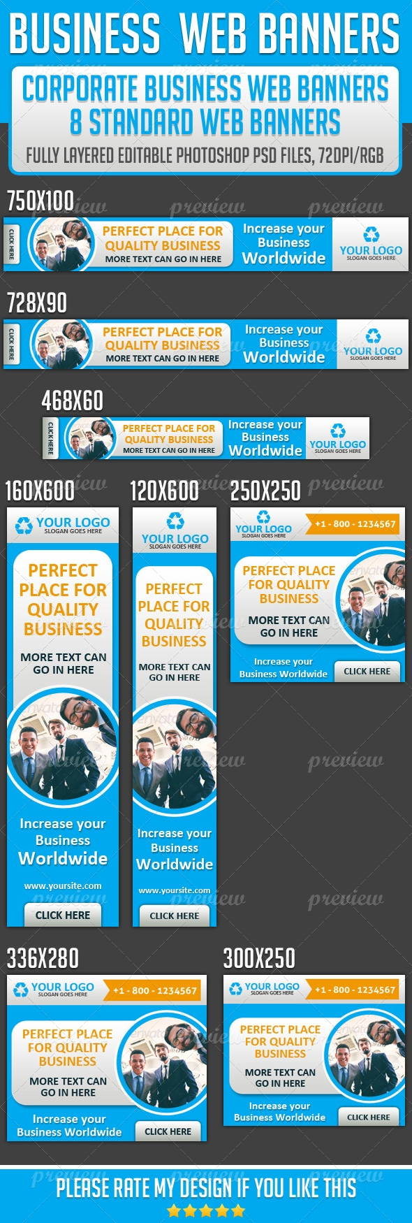 Corporate Business Web Banner