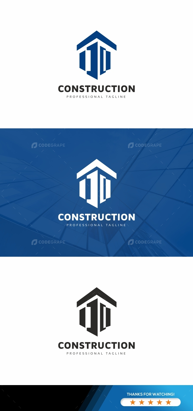 Construction Real Estate Logo