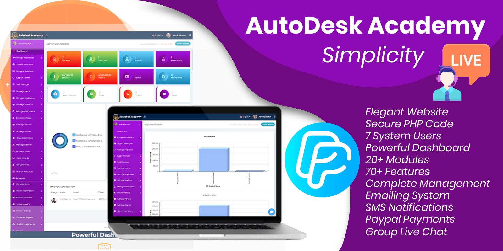 Autodesk Academy Erp System