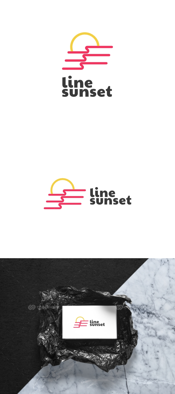 Sunset - Line Sunset Logo