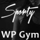 Sporty - a responsive WordPress Gym and Sport Theme