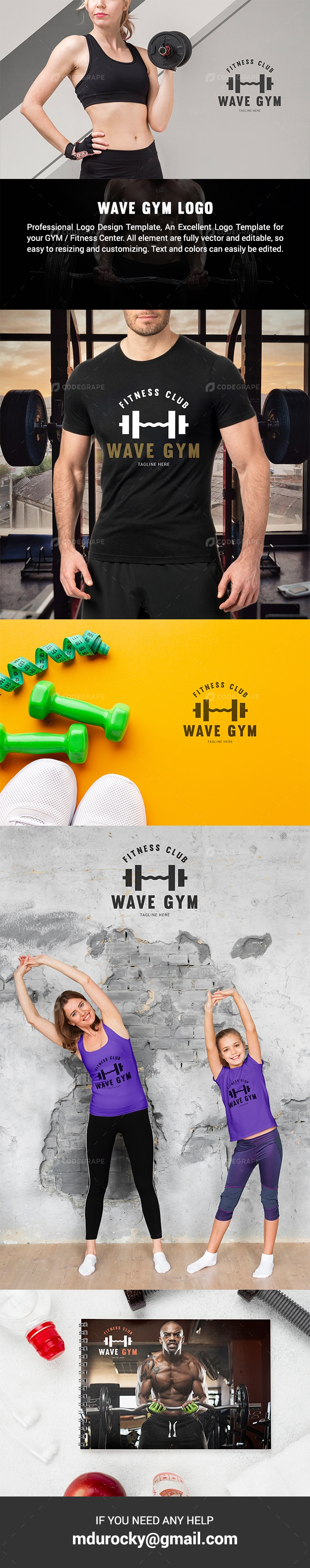 WAVE GYM Logo