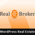 Realbroker  - a responsive WordPress Real Estate Theme