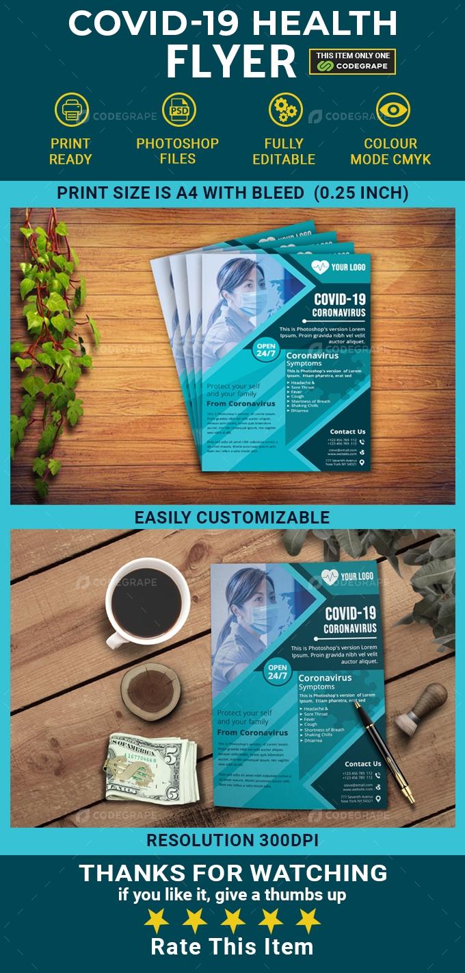 Covid-19 Health Flyer
