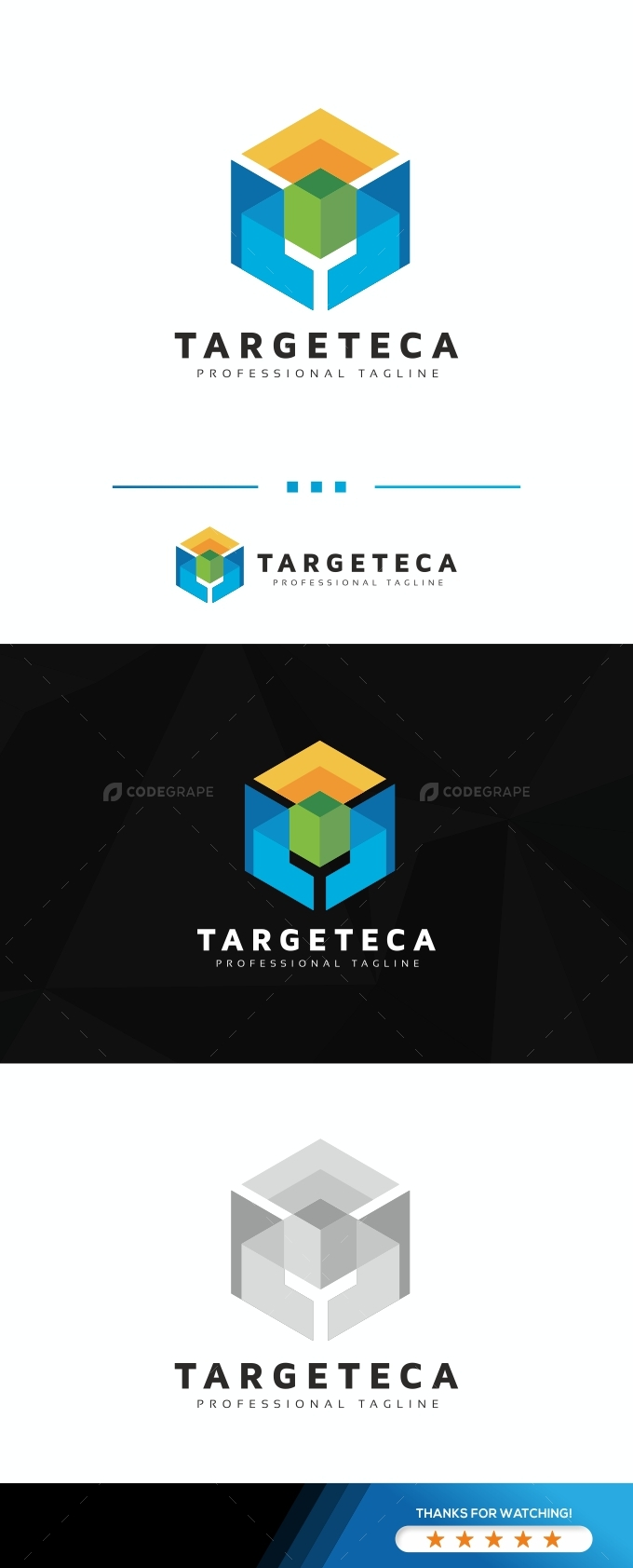 Target Hexagon Logo