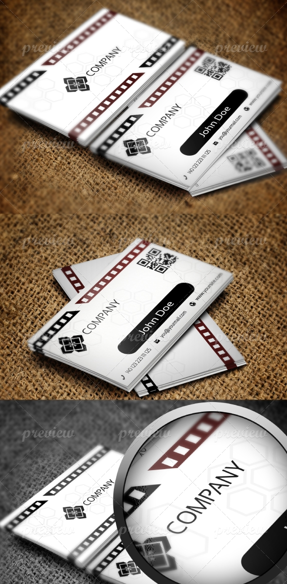Jabbi V38 Corporate Business Card