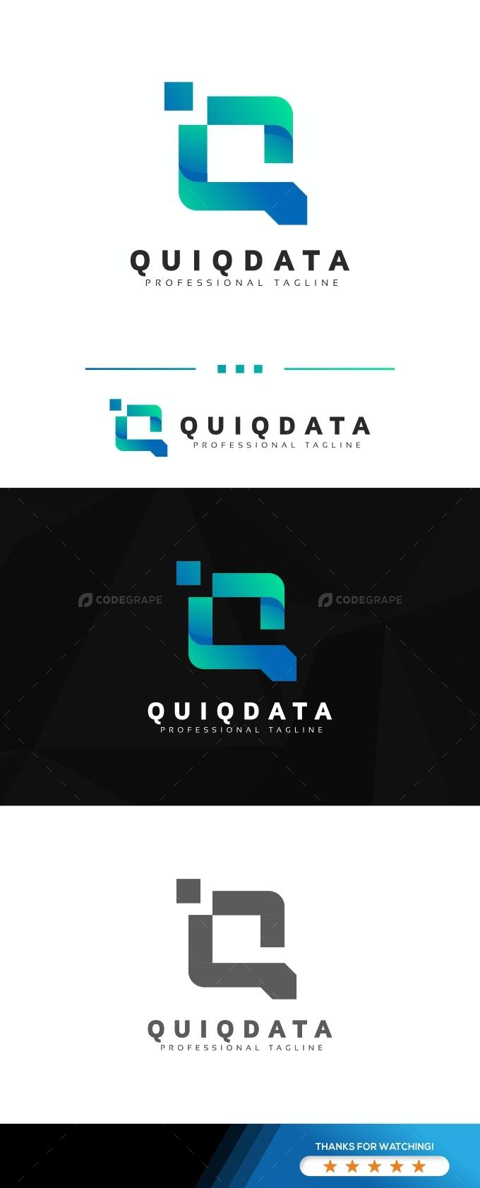 Quiqdata Q Letter Logo