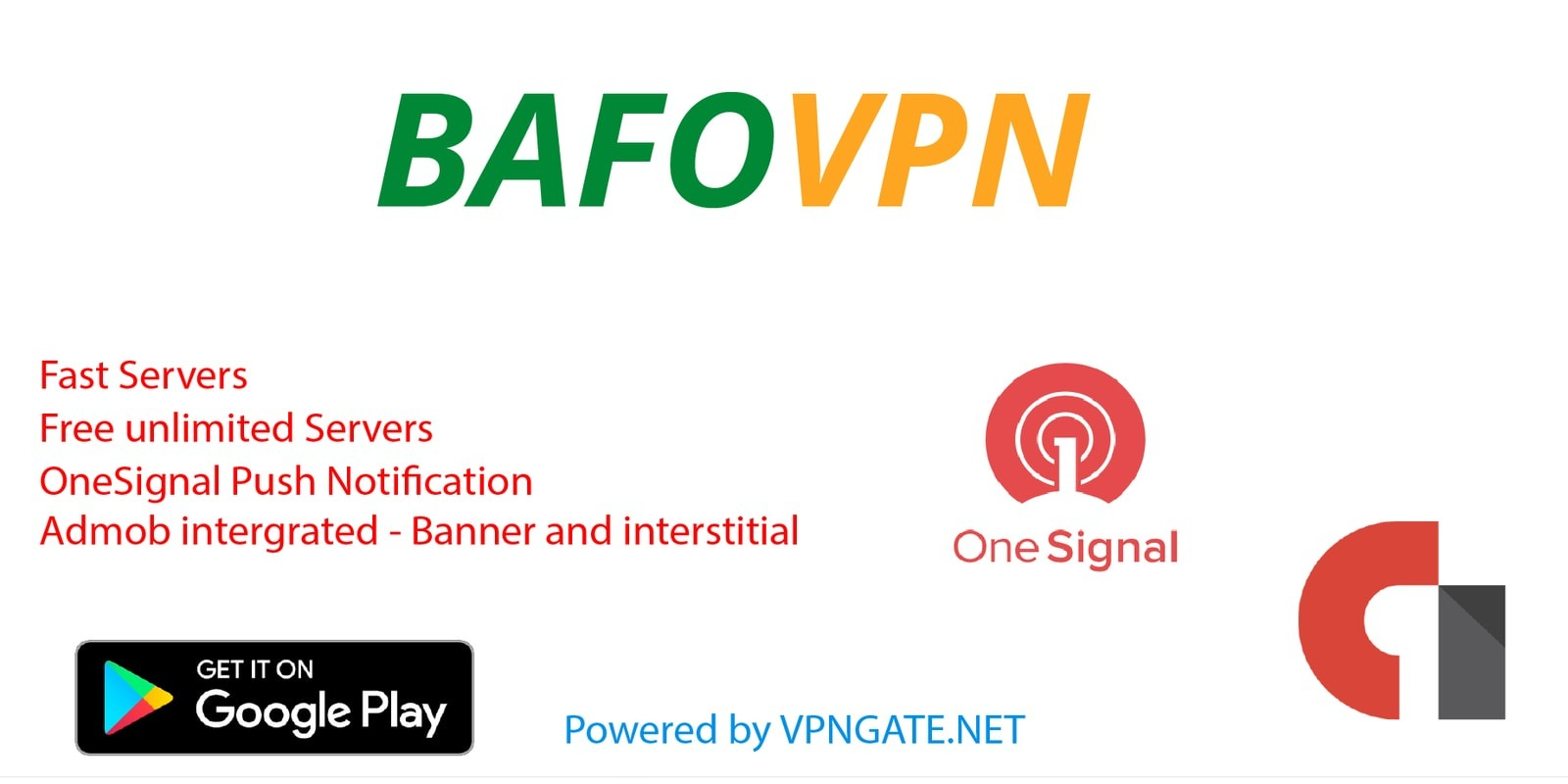Bafo VPN - Free Premium Servers