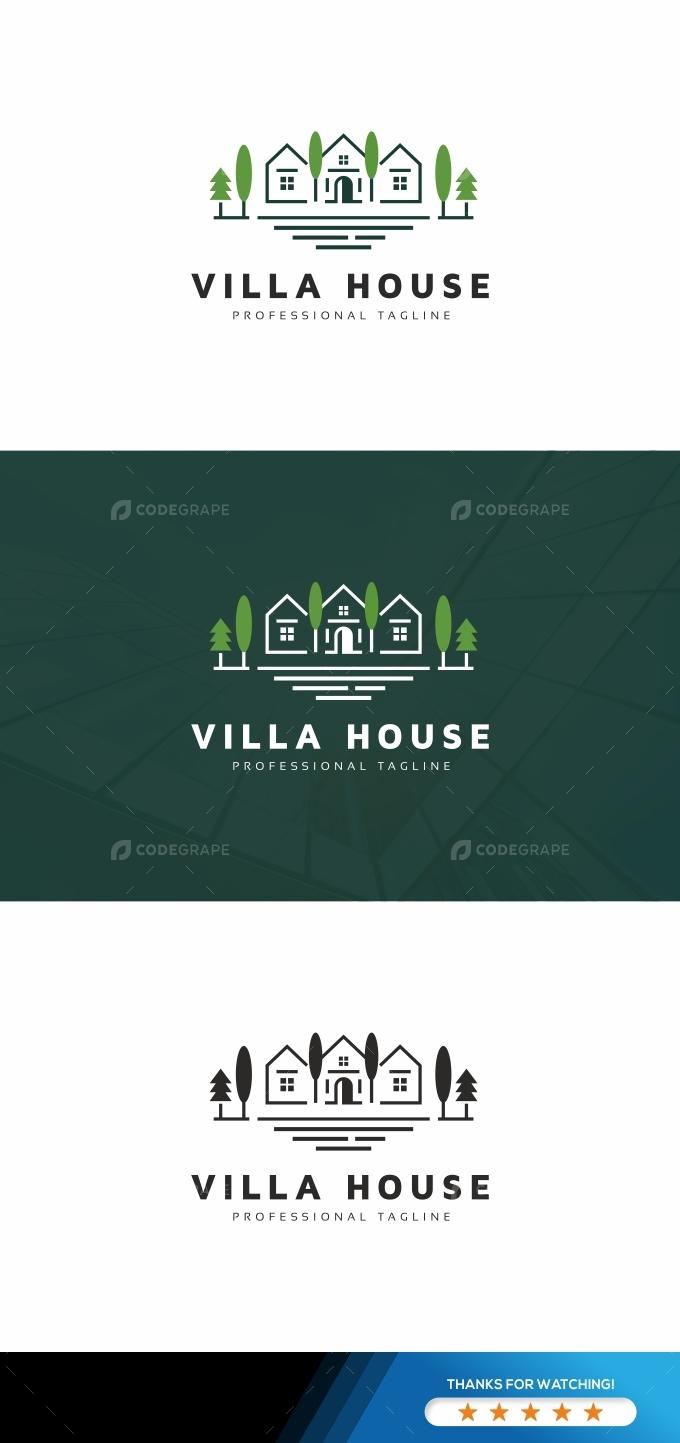 Villa House Logo