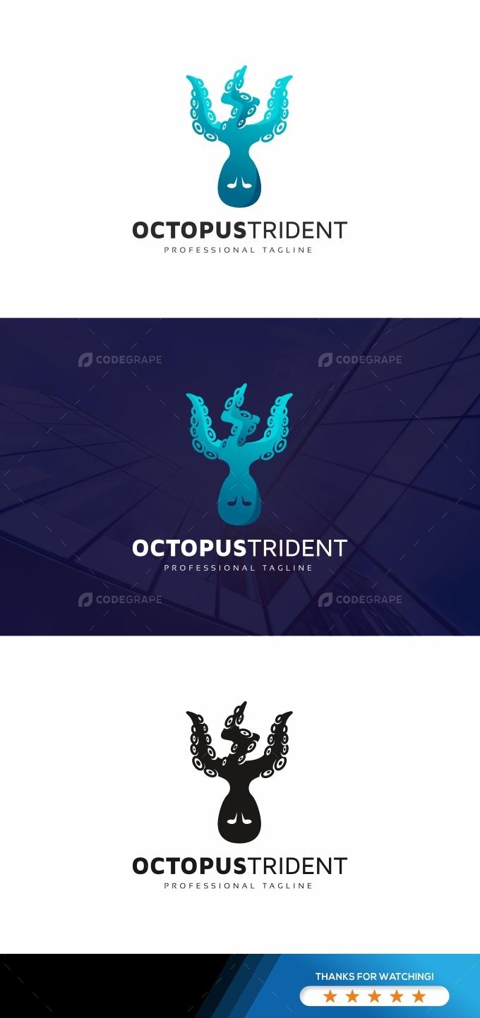 Octopus Trident Logo