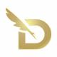 D Letter Write Logo