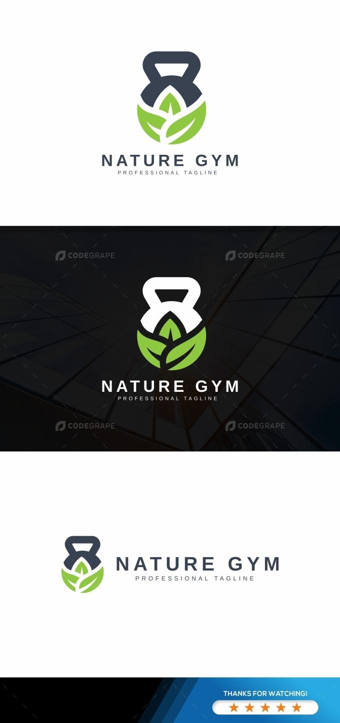 Nature Gym Logo