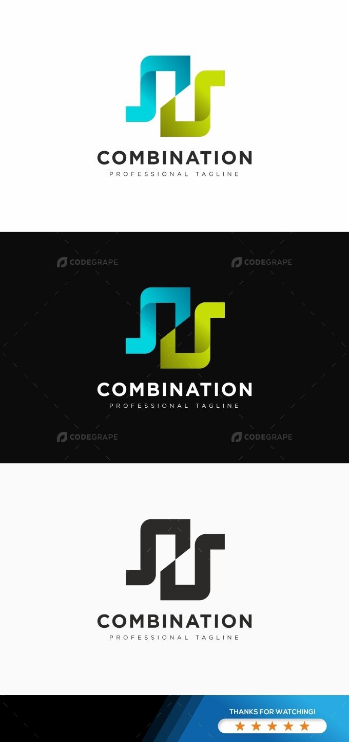 Square Combination Logo