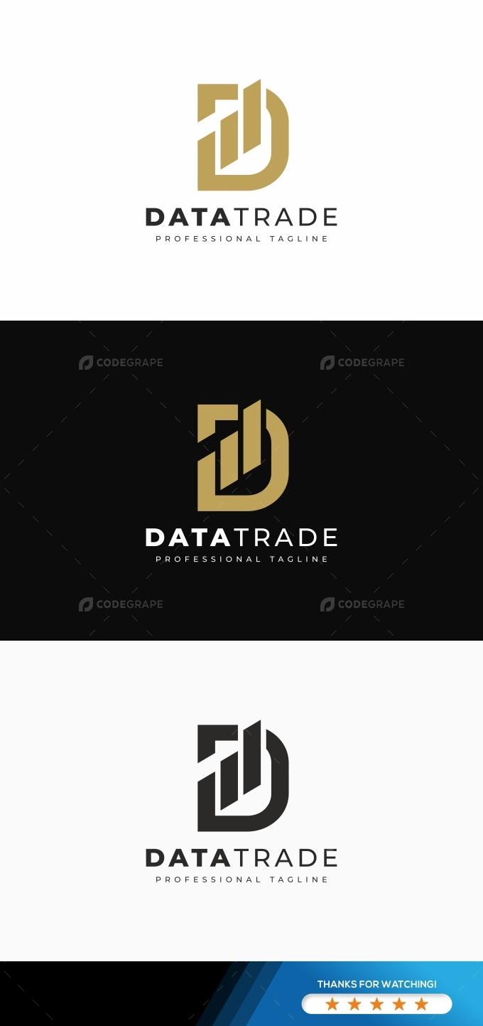 Data D Letter Logo