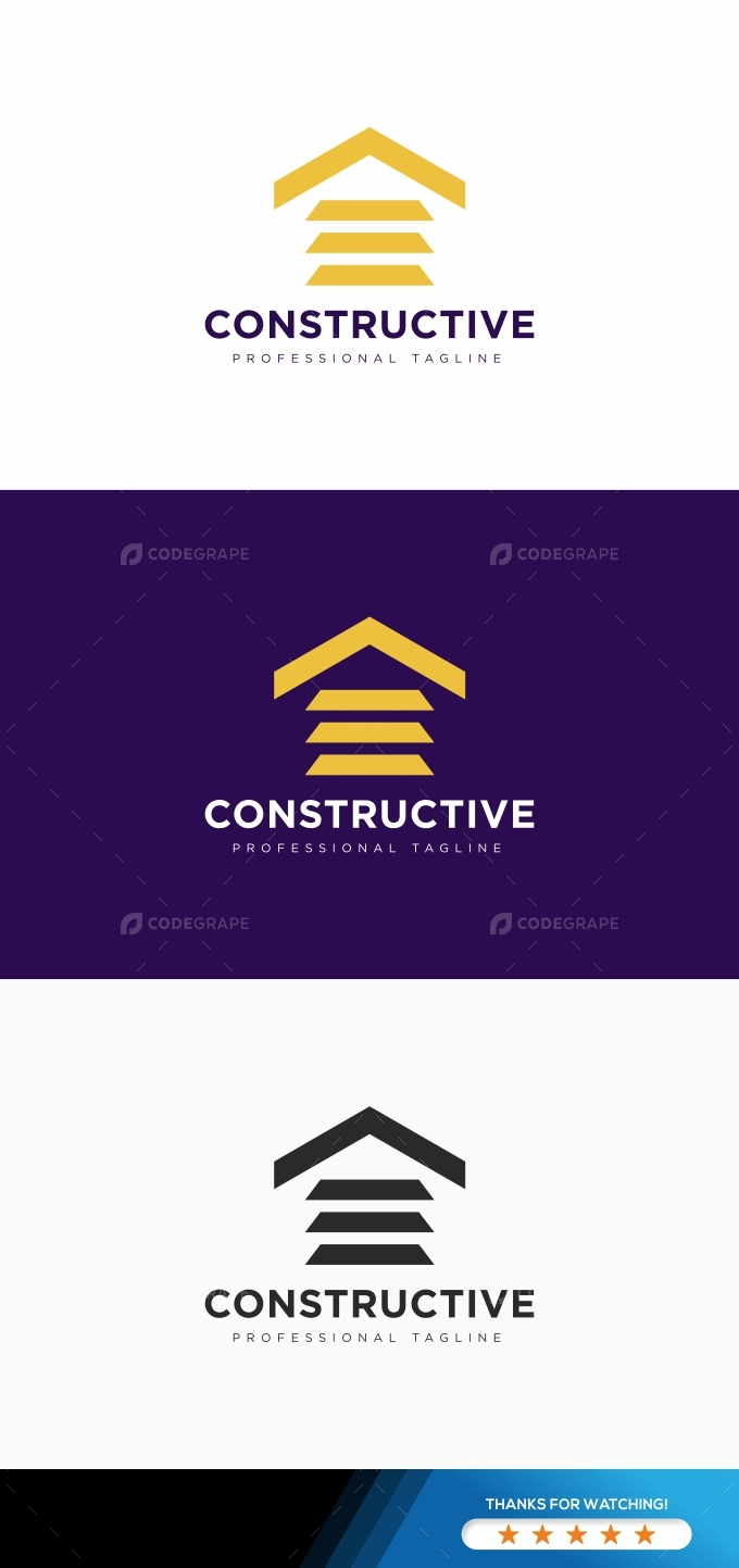 Construction House Logo