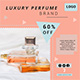 Luxury Perfume Sale Banner