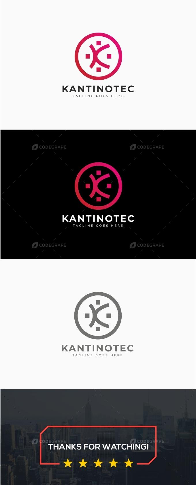 K Letter Community Logo