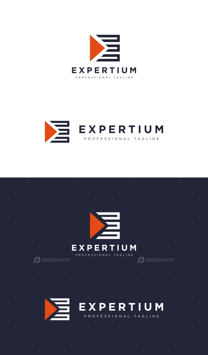 E Letter Play Logo