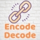 Encode and Decode Link or Text Online