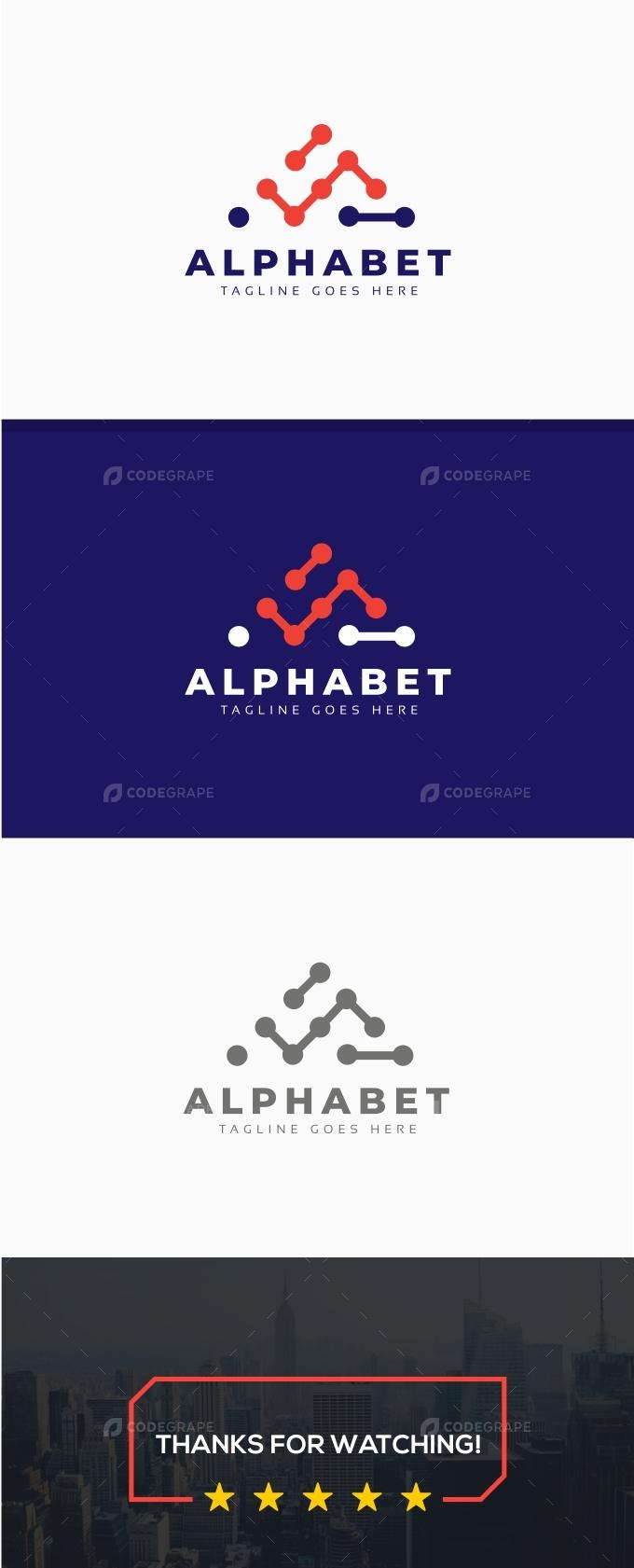Alphabet A Letter Logo