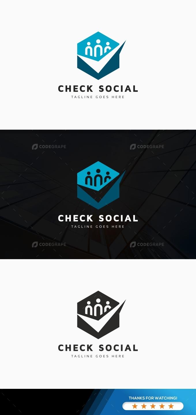 Check Social Logo