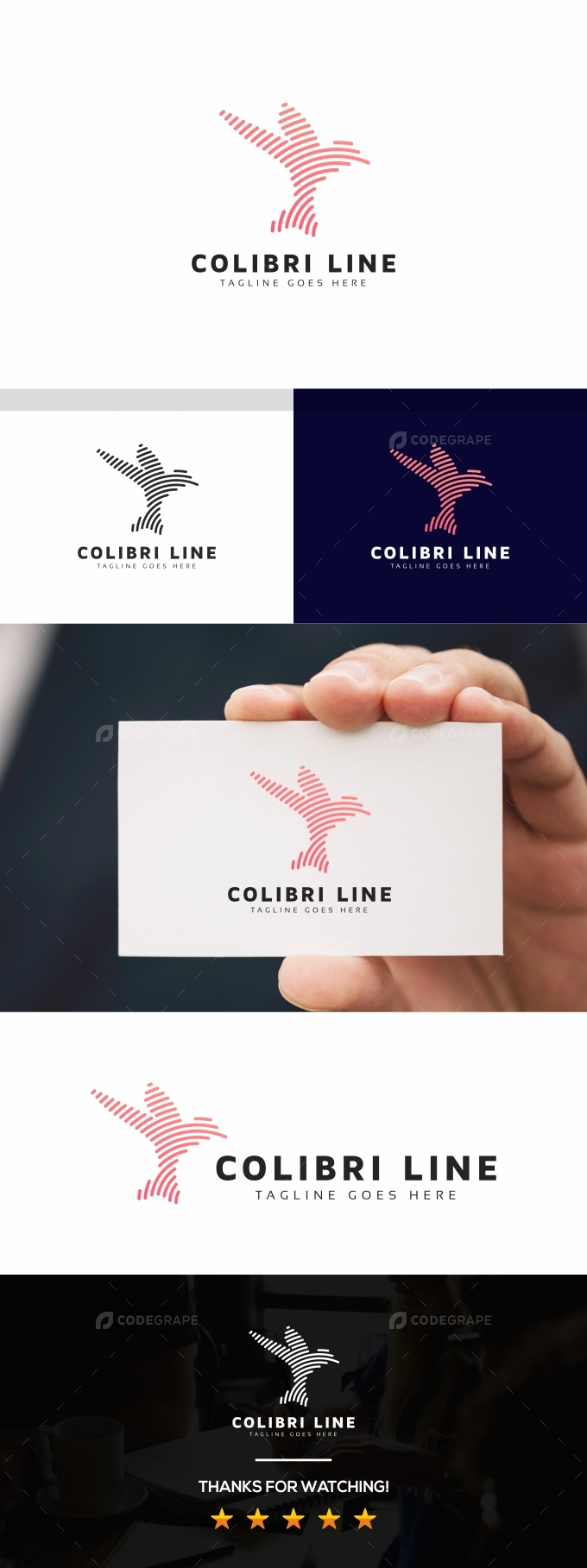 Colibri Line Logo