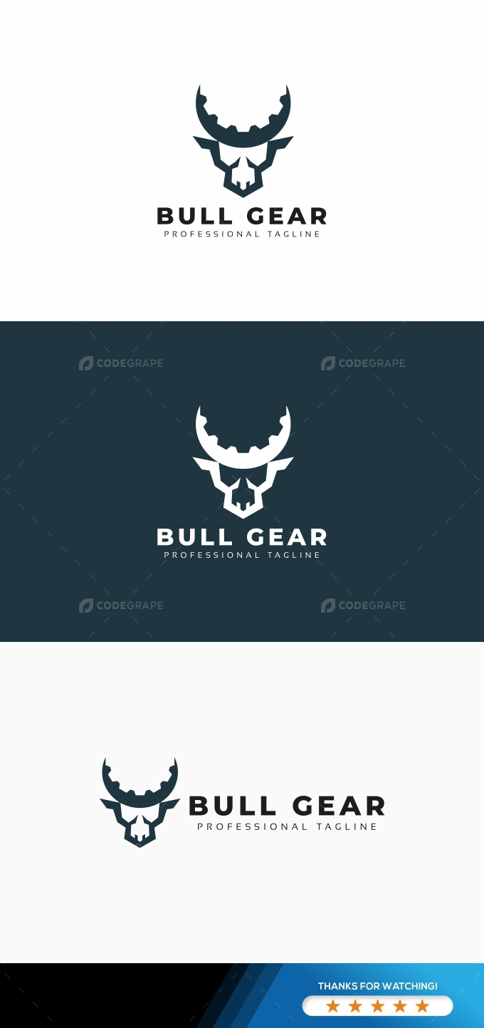 BulL Gear Logo