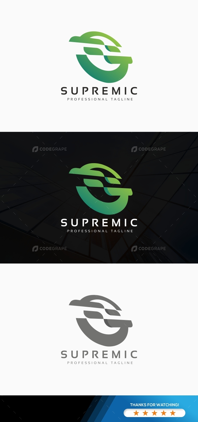 Abstract S Letter Logo