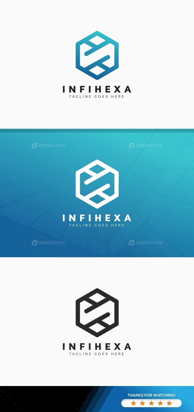 Infinity Hexagon Logo