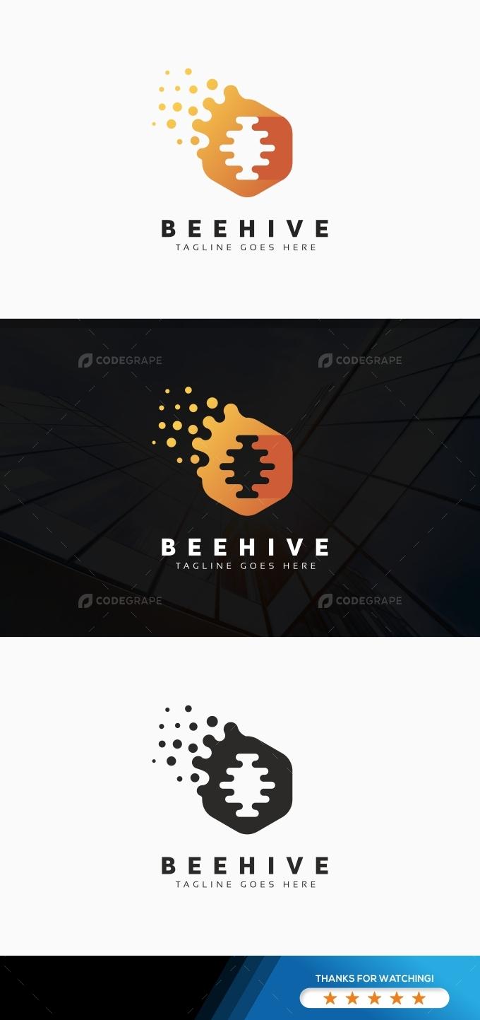 Bee Hive Logo