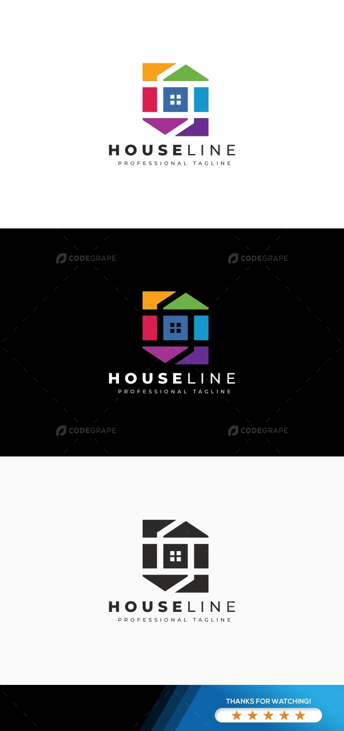 House Line Logo